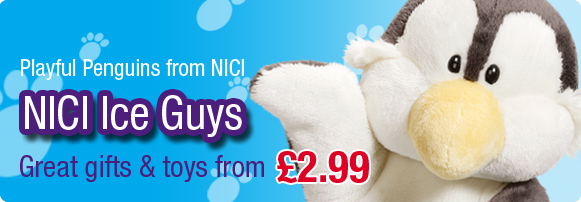 NICI Ice Guys Penguin Soft Toys and Gifts