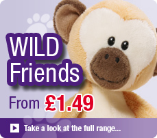 NICI Wild Friends Soft Toys and Gifts