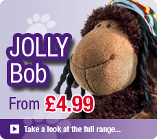 NICI Jolly Bob Soft Toys and Gifts