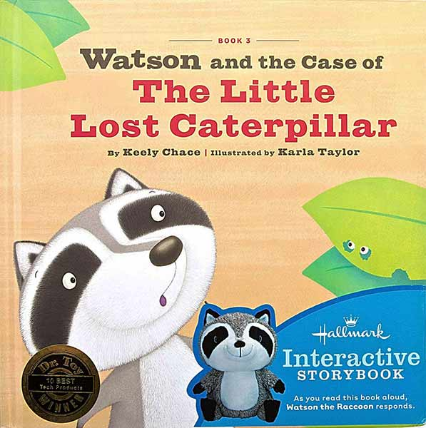 Watson and the Case of The Little Lost Caterpillar Storybook