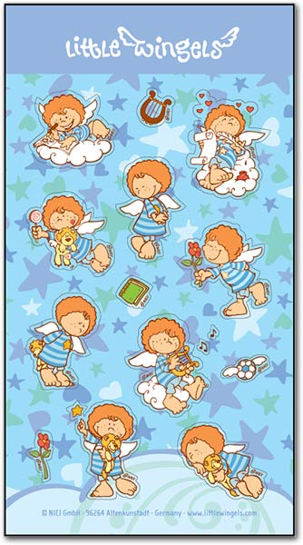 Angel Leon Stickers