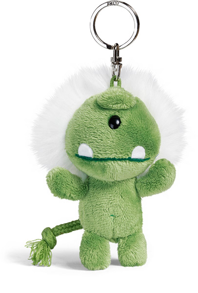 Monster Keyring - Green