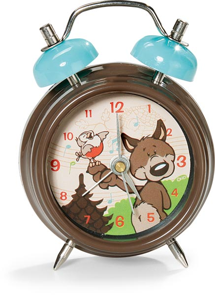Woody Wolf Alarm Clock