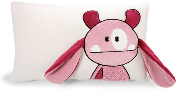 Monster 'Uih' Cushion - Pink