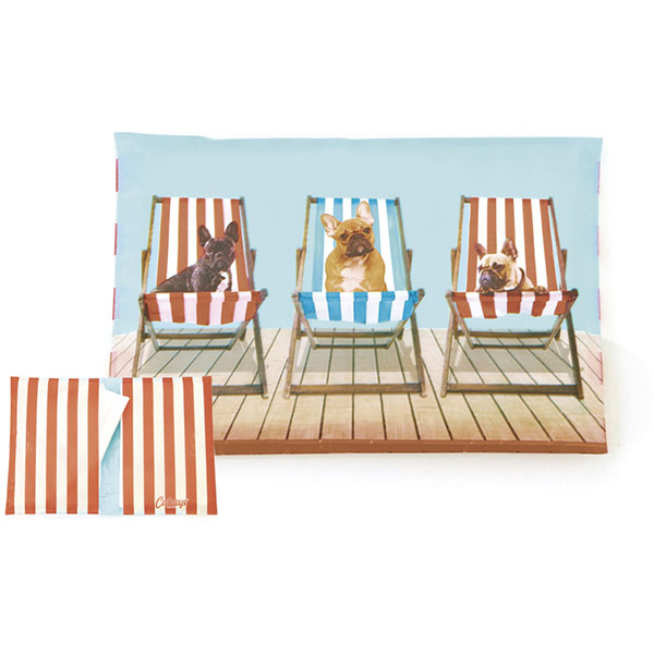 Deckchair Dogs Tissues