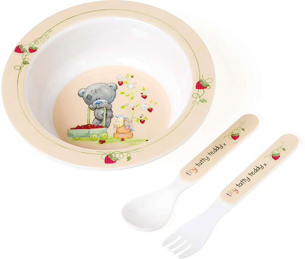 Me to You - Baby's Bowl & Cutlery Set