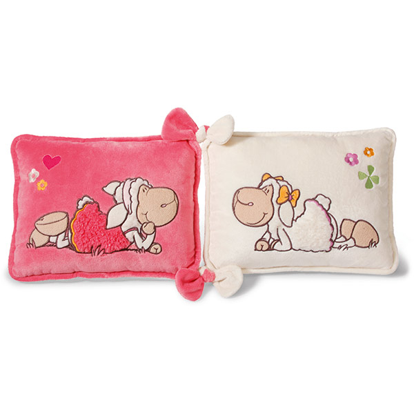 Jolly Amy & Frances Sheep Love Cushion