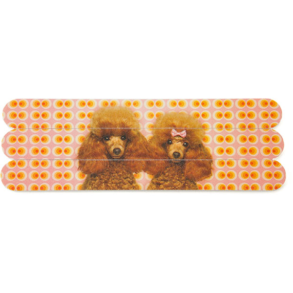 Poodle Love Nail Files