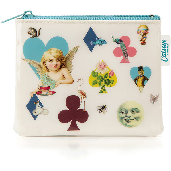 Hearts & Cherubs Coin Purse