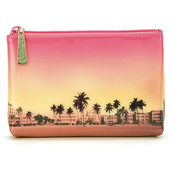 Palm Trees Make-Up Pouch