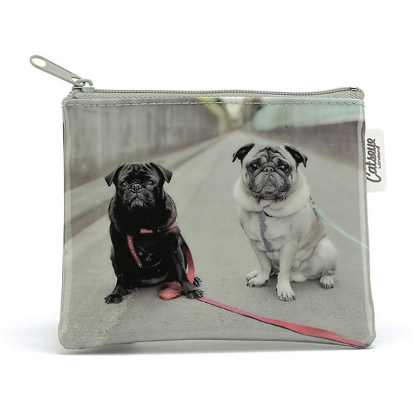 Road Pugs Zip Purse