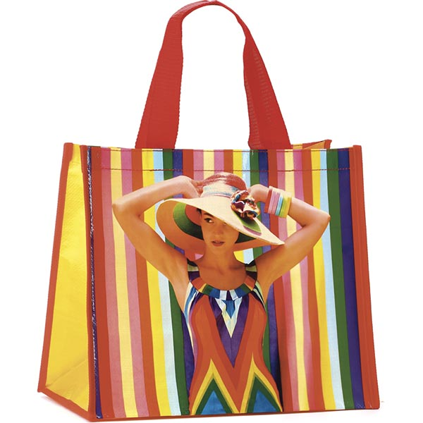 Rainbow Woman Shopper