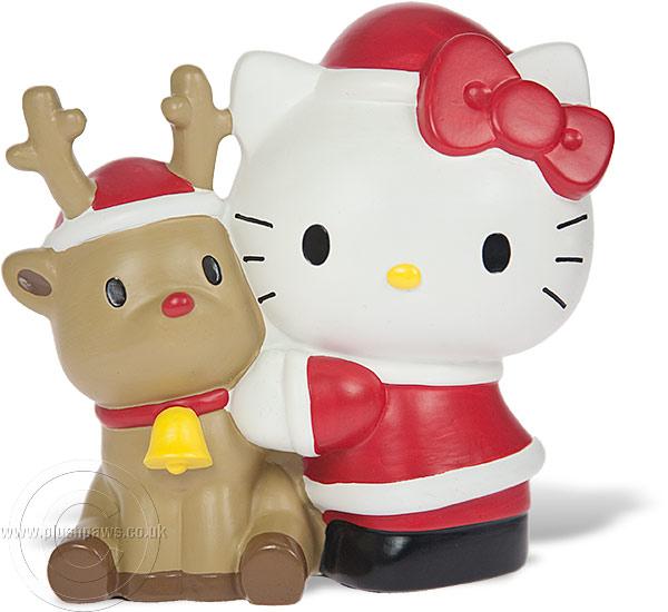 Hello Kitty Christmas.Hello Kitty Christmas Figurine