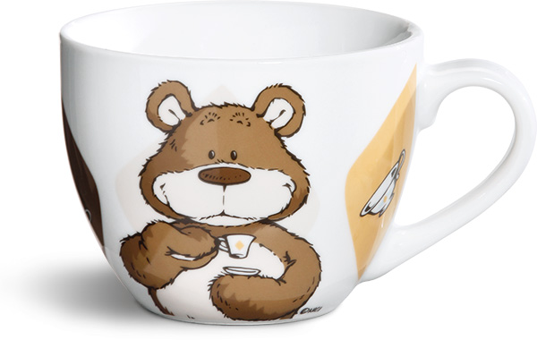 nici classic bear light brown mug xxl. Black Bedroom Furniture Sets. Home Design Ideas