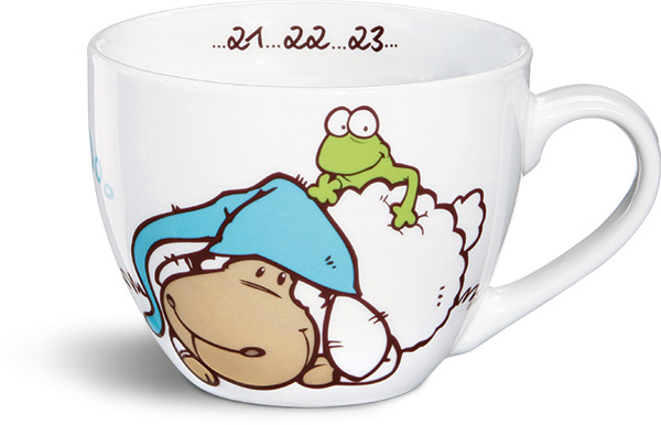 nici jolly sleepy sheep mug xxl. Black Bedroom Furniture Sets. Home Design Ideas