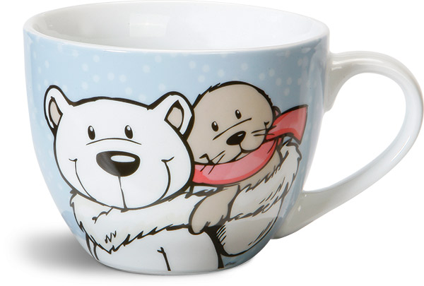nici white world polar bear seal mug xxl. Black Bedroom Furniture Sets. Home Design Ideas
