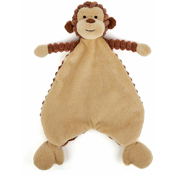 Little Jellycat Cordy Roy Baby Monkey Soother Plushpaws