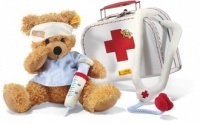 Doctor Fynn Teddy Bear with Suitcase