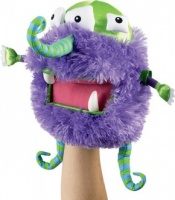 Droidimals Monster Puppet - Purple