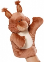 Quincy Oak Squirrel Puppet