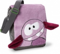 Monster 'Hah' Shoulder Bag - Purple