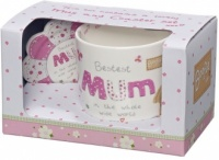 Mum Mug & Coaster Set
