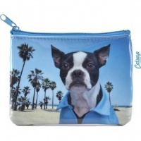 Beach Dog Coin Purse