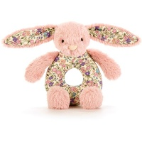 Blossom Tulip Pink Bunny Grabber Rattle