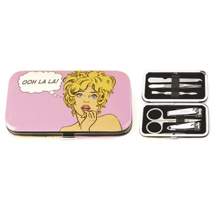 Comic Woman Nail Care Set