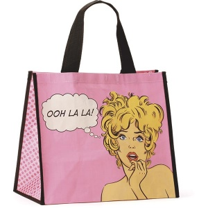 Comic Woman Shopper