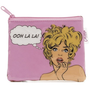 Comic Woman Zip Purse