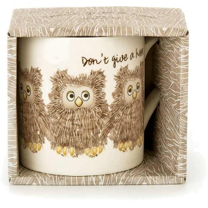 Don't Give a Hoot Owl Mug