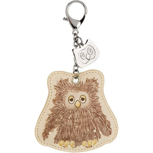 Don't Give a Hoot Owl Keyring