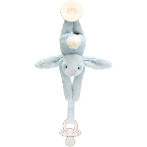 Bashful Blue Bunny Dummy Holder