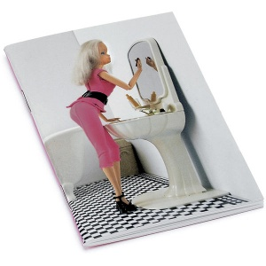 Doll in Bathroom Little Notebook