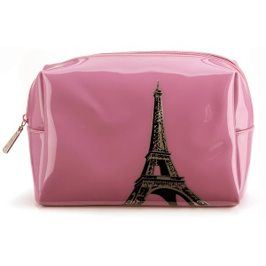 Eiffel Tower Large Beauty Bag