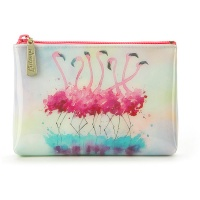 Flamingo Make-Up Pouch