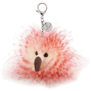 Flaunt your Feathers Flamingo Bag Charm