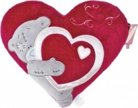 Me to You - Tatty Teddy Heart Cushion
