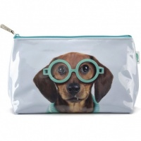 Glasses Dog Wash Bag