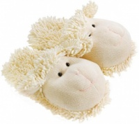 Fuzzy Friends Sheep Slippers