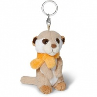 Meerkat Keyring with Scarf