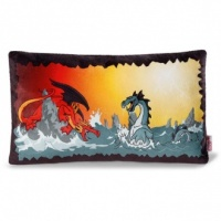 Dragon & Sea Monster Cushion