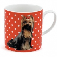 Polka Dot Dog Mug