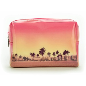 Palm Trees Large Beauty Bag