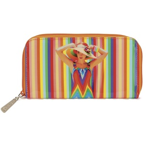 Rainbow Woman Zip Wallet
