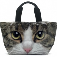Tabby Cat Bucket Bag