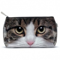 Tabby Cat Wash Bag