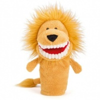 Toothy Lion Hand Puppet