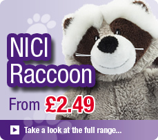 NICI Raccoon Soft Toys and Gifts